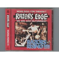 Razors Rising !!!! / Razors Edge [Used CD] [w/obi]