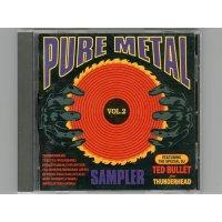 Pure Metal Sampler Vol. 2 / V.A. [Used CD]