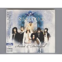 Sweet & Deceitful / Negative [Used CD] [1st Press] [Digipak] [w/obi]