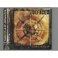Karma In Black / The Defaced [Used CD] [w/obi]