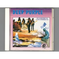 Live In Amsterdam 1969 & Live In Stockholm 1970 / Deep Purple [Used CD]