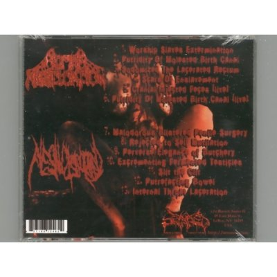 Photo2: The Gallery Of Guttural Perversion / Human Mastication & Flesh Disgorged [New CD] [Import]