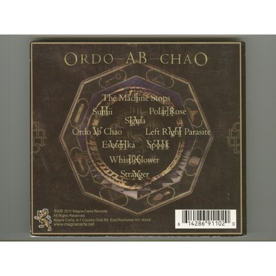 Photo2: Ordo Ab Chao / The Android Meme [Used CD] [Digipak] [Import]
