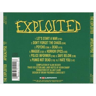 Photo2: Apocalypse '77 / The Exploited [Used CD] [Import]