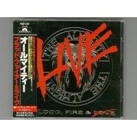 Blood, Fire & Live / The Almighty [Used CD] [w/obi]