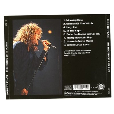 Photo2: The Roots Of A Plant / Robert Plant [Used CD]