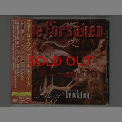 Photo1: Arts Of Desolation / The Forsaken [Used CD] [w/obi]