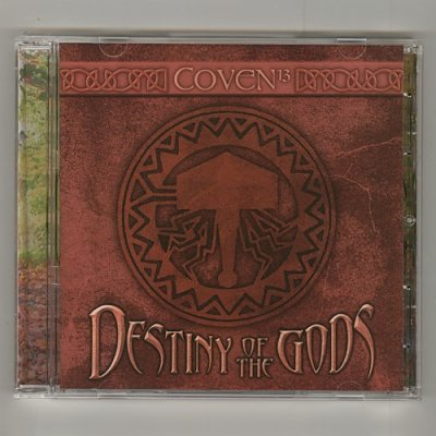 Photo1: Destiny Of The Gods / Coven 13 [Used CD] [Import]