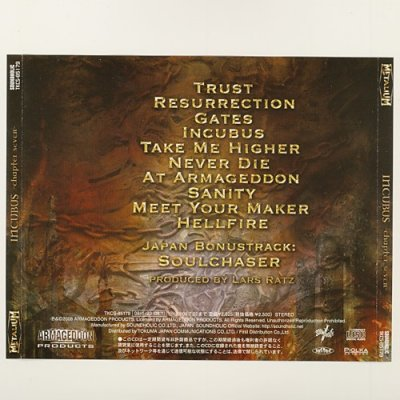 Photo2: Incubus -Chapter Seven- / Metalium [Used CD] [Sample] [w/obi]