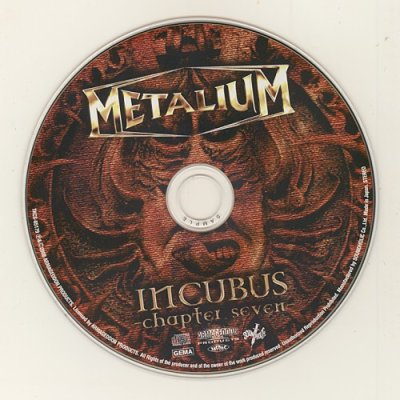 Photo4: Incubus -Chapter Seven- / Metalium [Used CD] [Sample] [w/obi]