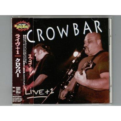 Photo1: Live + 1 / Crowbar [Used CD] [EP] [Sample] [w/obi]
