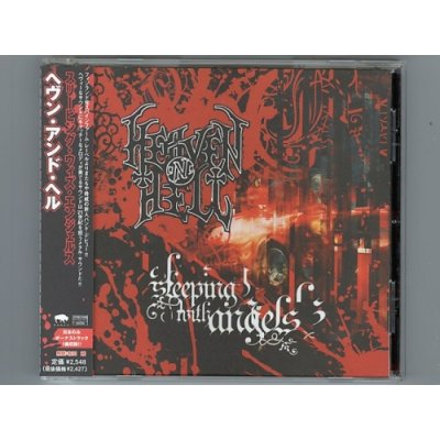 Photo1: Sleeping With Angels / Heaven 'N' Hell [Used CD] [w/obi]