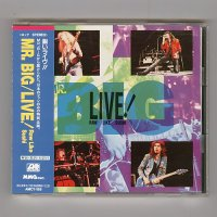 Live! Raw Like Sushi / Mr. Big [Used CD] [w/obi]