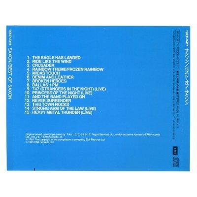 Photo2: Best Of Saxon / Saxon [Used CD] [w/obi]