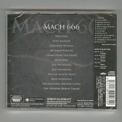 Photo2: Mach 666 / Burn To Black [Used CD] [Sealed]