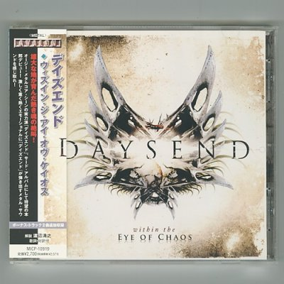 Photo1: Within The Eye OF Chaos / Daysend [Used CD] [w/obi]
