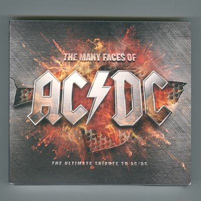 Photo1: Many Faces Of AC/DC - The Ultimate Tribute To AC/DC / V.A. [New CD] [3CD] [Digipak] [Import]
