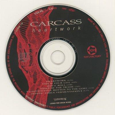 Photo4: Heartwork Ep / Carcass [Used CD] [w/obi]