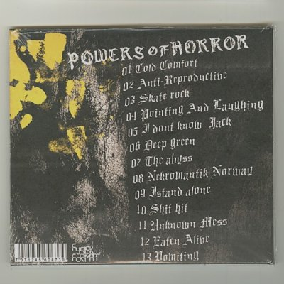Photo2: Powers Of Horror / Haust [New CD] [Paper Sleeve] [Import]