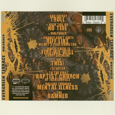 Photo2: Wolfbiker / Evergreen Terrace [Used CD] [Import]