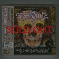 Devil's Got A New Disguise - The Very Best Of Aerosmith [Used CD] [CD+DVD] [1st Press] [w/obi]