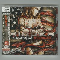 All American Nightmare -Deluxe Edition- / Hinder [Used CD] [CD+DVD] [1st Press] [Sealed]