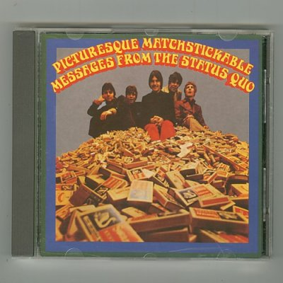 Photo1: Picturesque Matchstickable Messages From The Status Quo [Used CD] [Import]