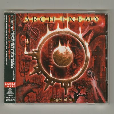 Photo1: Wages Of Sin / Arch Enemy [Used CD] [w/obi]