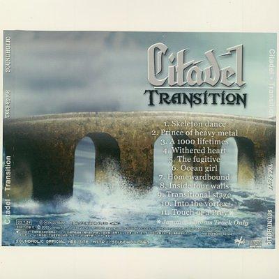 Photo2: Transition / Citadel [Used CD] [w/obi]