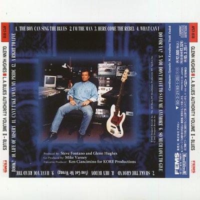 Photo2: L.A. Blues Authority Volume II - Blues / Glenn Hughes [Used CD] [w/obi]
