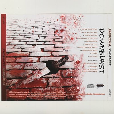 Photo2: Downburst / Brainstorm [Used CD] [w/obi]