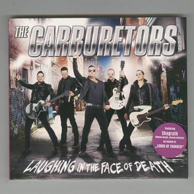 Photo1: Laughing In The Face Of Death / The Carburetors [Used CD] [Digipak] [Import]